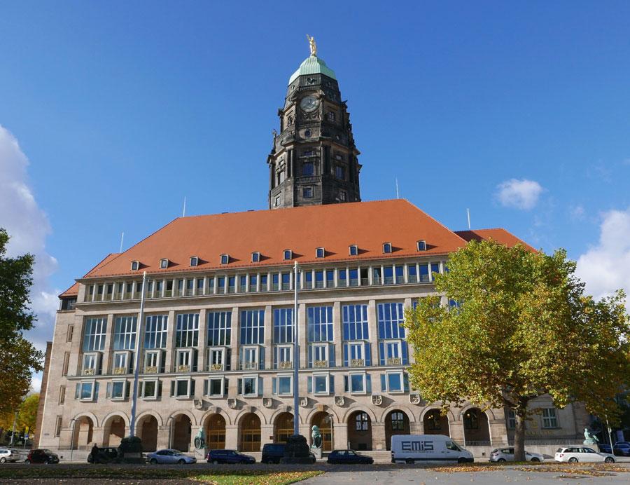 Neues Rathaus Dresden